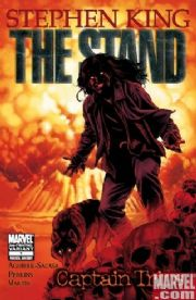The Stand Captain Trips #1 2nd Second Print Variant (2008) Marvel comic book